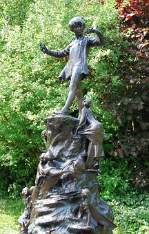 Peter Pan, Story, Character, Statue, Bronze