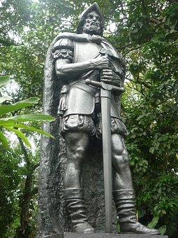 Statue, Conquistador, Conquerer, Sword, Spanish, Colony