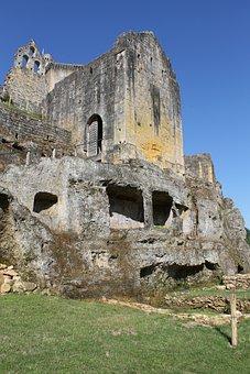 Commarques, Strong Castle, Region, Nature, Landscape