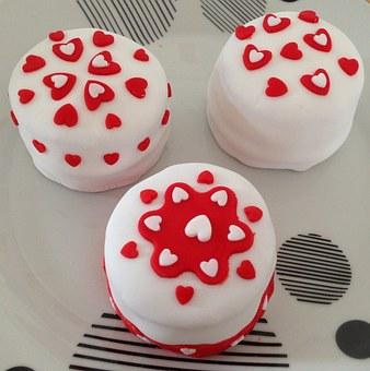 St Valentin, Heart, Cake, Desert