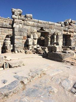 Ruins, Ephesus, Ancient, Architecture, Archeology