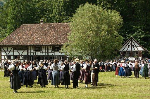Folk Dance, Volklore, Dance, Round Dance