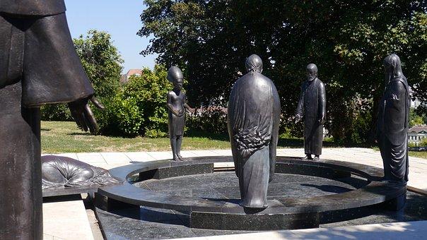 Philosophers Garden, Budapest, Gellért Hill, Abraham