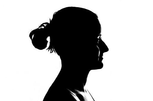 Face, Head, Women, Profile, Isolated, Human, Model