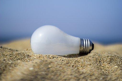 Light Bulb, Electricity, Energy, Lamp, Bright, Power