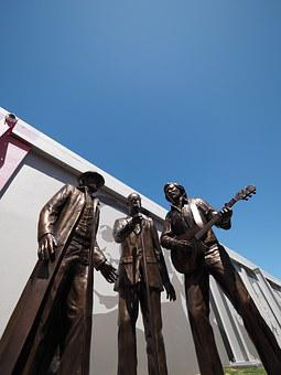 Bee Gees, Statue, Brisbane, Queensland, Australia