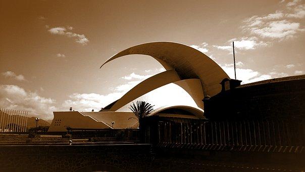 Tenerife, Auditorium, Santa Cruz
