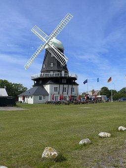 Mill, öland, Sweden