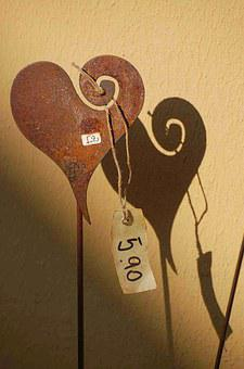 Heart, Shadow, Love, Money, For Sale, Valentine's Day