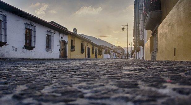 Dawn, Guatemala, Antiguaguatemala, Central America