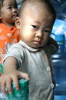 Children, China, Chinese, Asia
