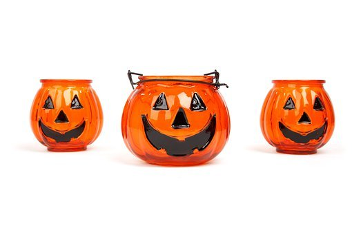 Autumn, Candle, Celebration, Decoration, Face, Glass