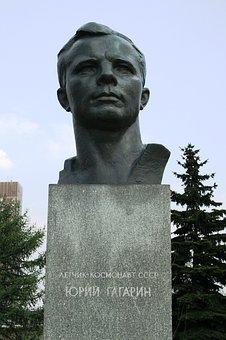 Bust, Yuri Gagarin, First Man In Space