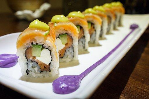 Sushi, Food, Taipei, Seafood, Maki, Roll