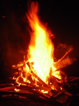Fire, An Outbreak Of, The Flame, Glow, Censer, Red, Hot