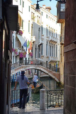 Venice, Gondolas, Italy, Holiday, Citytrip, Gondolier