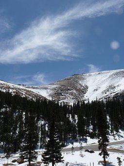 Mountains, Snow, Colorado, Rocky Mountains, Hiking