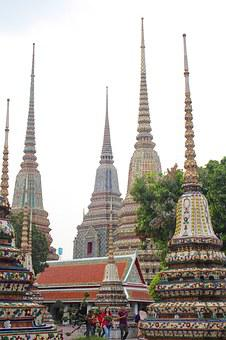 Temple, Roof, Pagoda, Architecture, Palace, Buddhism