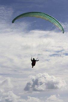 Paraglider, Paragliding, Gleischirmflieger
