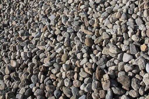 Gravel, Stone, Pebbles, Fragmented Stones, Small
