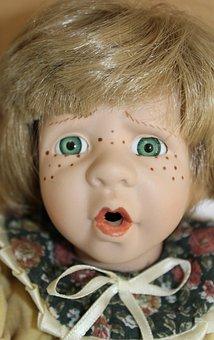 Doll, Girl, Toys, Face, Play, Children Toys, Eyes