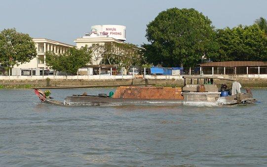 Vietnam, Mekong River, Mekong Delta, Boat Trip, River