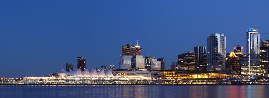 Vancouver, Skyline, Canada Place, Downtown