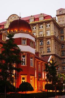 Tianjin, Western Street, Western Building, Building