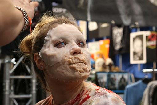 Zombie, Make Up, Face, Special Fx, Horor
