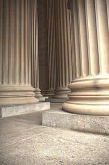 Marble, Columns, Pillars, Greek, American, Tourism