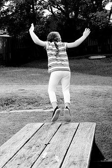 Child, Kid, Children, Action, Play, Playground, Jump