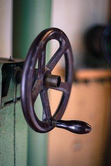 Wheel, Crank, Mechanics, Hand Wheel, Turn, Theatre