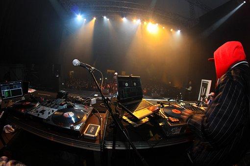Concert, Scene, Dj, Music, Rap, Hip Hop, Scenequipmente