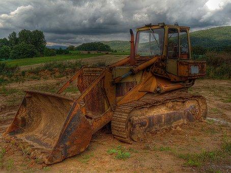 Excavators, Forest, Vehicle, Tracked Vehicle, Crawler