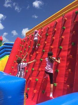 Climbing, Children, Play, Playing, Child, Fun, Happy