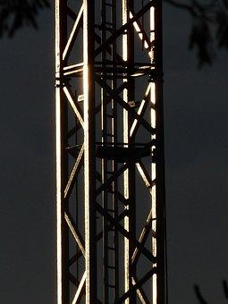 Crane, Lattice Boom Crane, Lattice, Baukran, Build