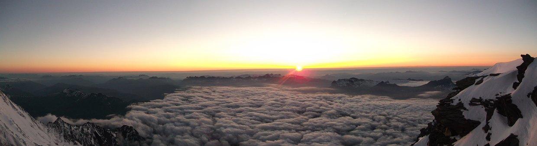 Mont Blanc, Sunset, Alps, Landscape, Mountain, Blanc