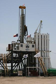 Oil, Rig, Drilling, Modern
