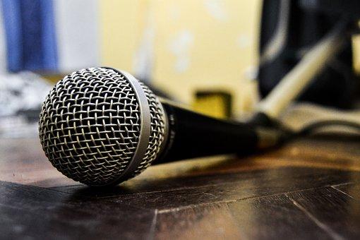 Hip Hop, Rap, Microphone, Music, Passion, Relief