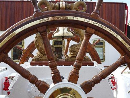 Old Rig, Old Rudder, Sebov, Russian Three-masted