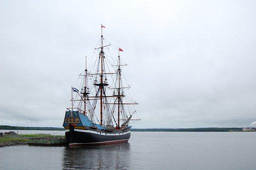 Ship, Historical, Sea, Travel, Boat, Water, Historic