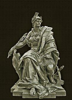Sculpture, Monument, Artwork, Art, Ironwork, Historic