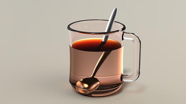 Tea, Drink, Cup, Spoon, Teacup, Cup Of Tea, Beverage