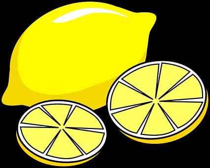 Lemon, Juicy, Slices, Yellow, Citrus, Citrus Fruit
