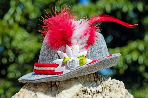 Hat, Trachtenhut, Costume, Bavarian, Tradition, Customs