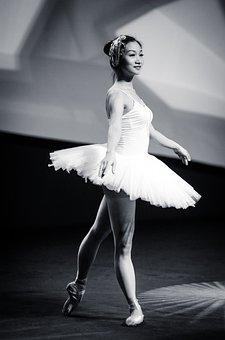 Female, Ballet, Dance, Dancer, Ballerina, Asian