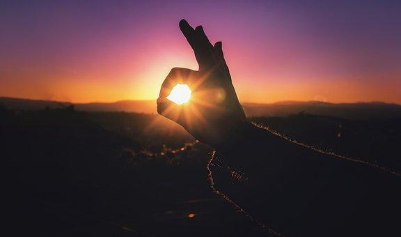 Sunset, Day, Summer, Sky, Beauty, Blue Sky, Sunny Day