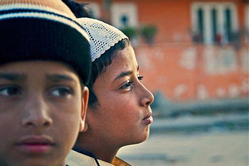 Indian, Boys, Children, Male, Asian, Ethnic, Culture