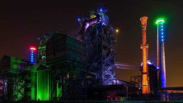 Duisburg, Landscape Park, Factory, Ruhr Area, Industry