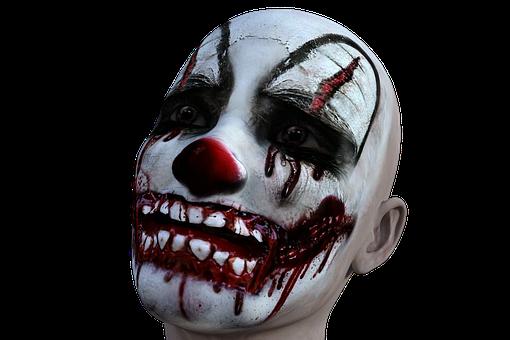 Clown, Evil, Horror, Halloween, Scary, Fear, Creepy